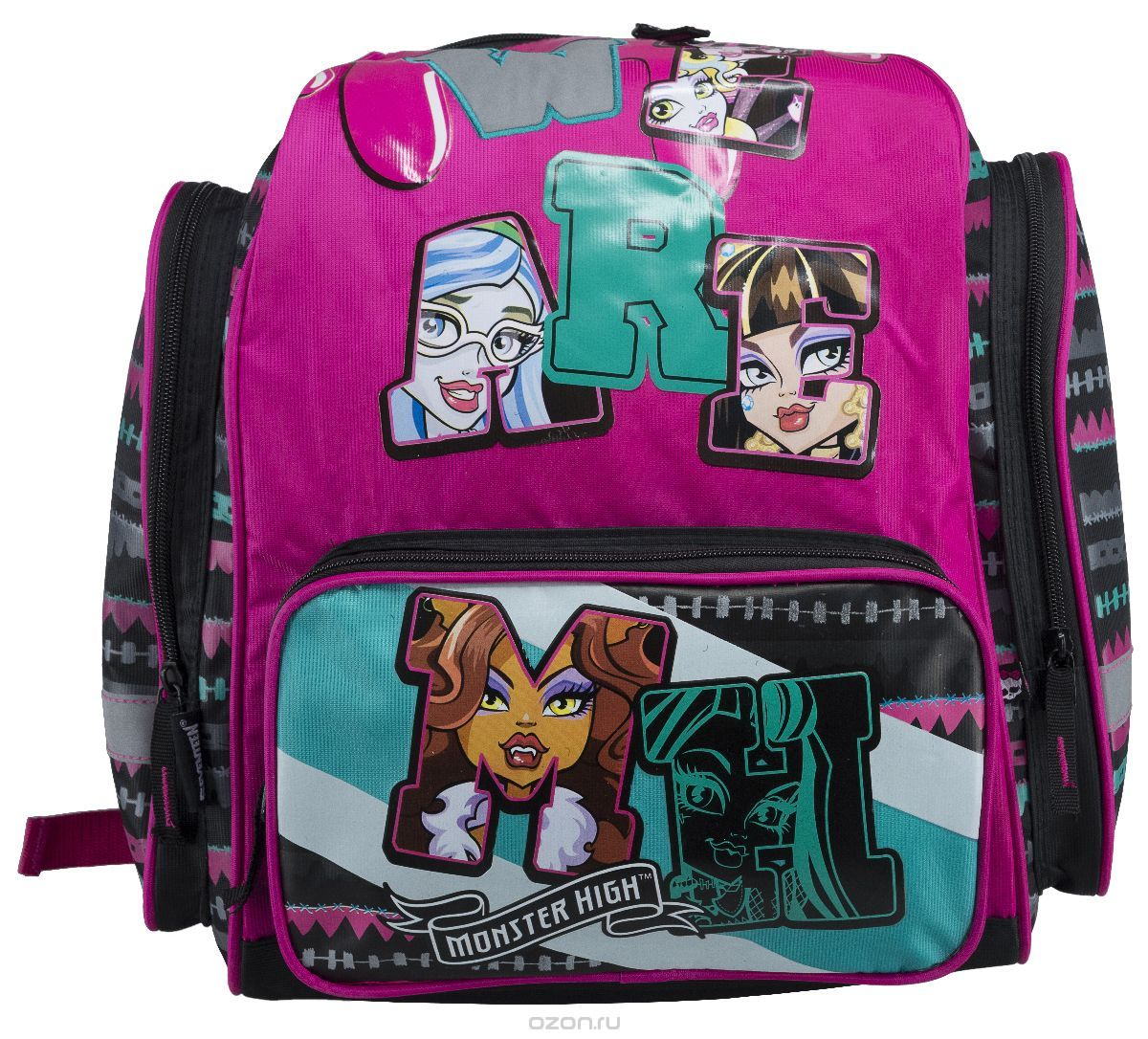 Ранец Monster High 39*36*14см MHCB-MT1-945