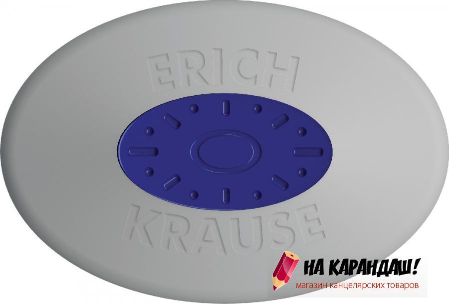 Ластик с центровкой овал mini бел Smart&Soft EK58002