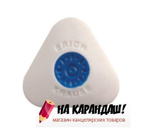 Ластик с центровкой треуг mini бел Smart&Soft EK58000