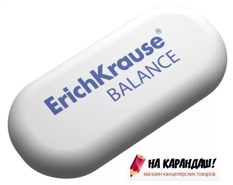 Ластик овал бел Balance 62*28*12мм EK35660