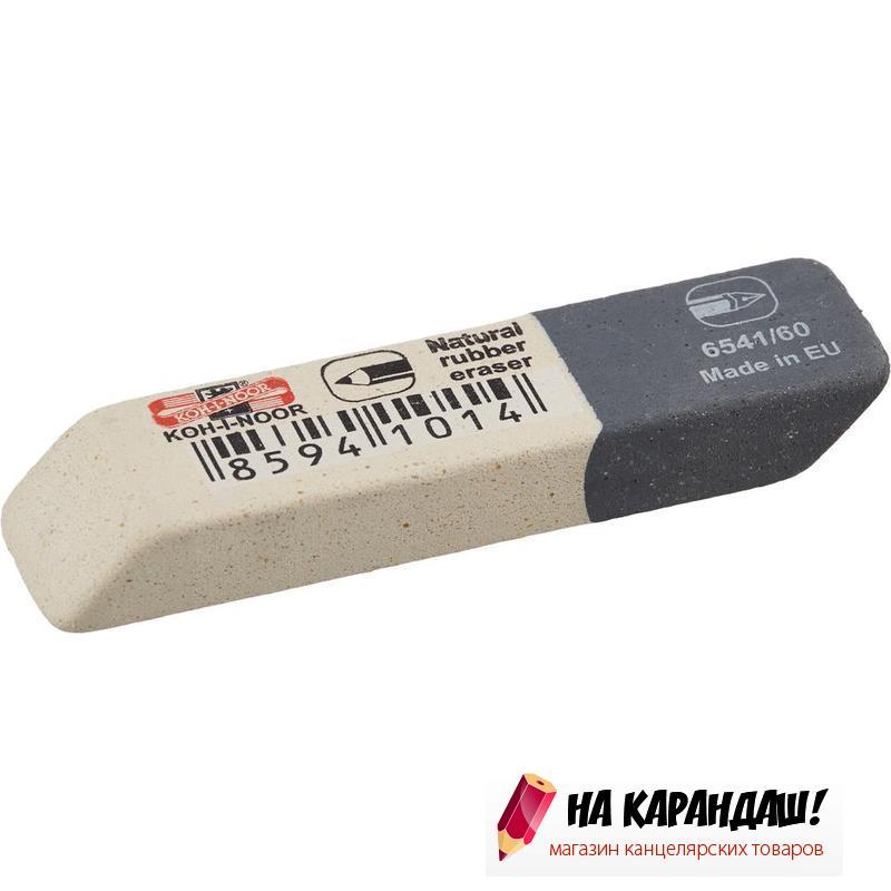 Ластик прям бел-сер SunPearl 57*14*8мм KIN 6541/60