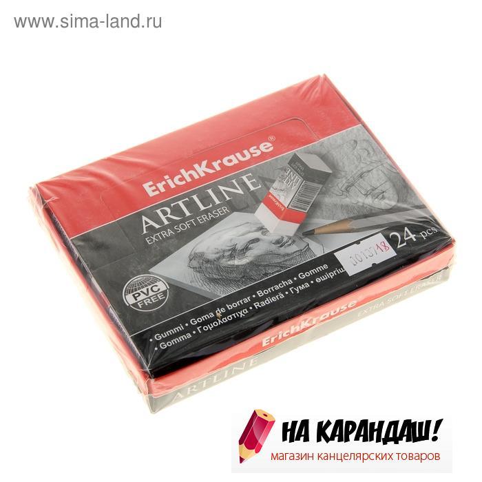 Ластик худ д/мяг кар Art Line Extra Soft прям бел 51*21*11мм EK35137