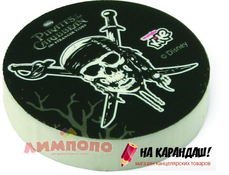 Ластик круг Pirates PС11-100WK 16992
