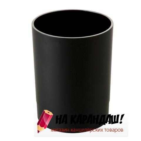 Подставка-органайзер для офисных принадлежностей пластиковая Офис СН11 черная