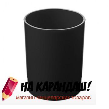 Подставка-органайзер для офисных принадлежностей пластиковая Офис ОФ777 черная