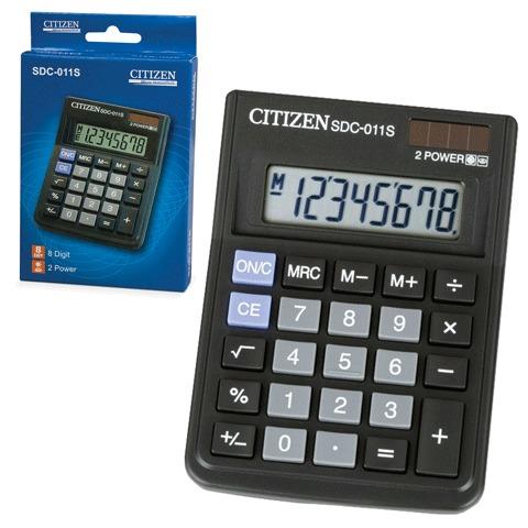 Калькулятор наст Citizen 8раз 87*120мм SDC-011S