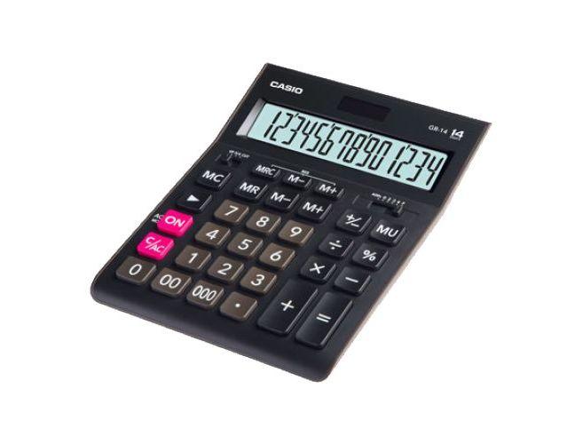 Калькулятор наст Casio 14раз 155*209мм GR-14