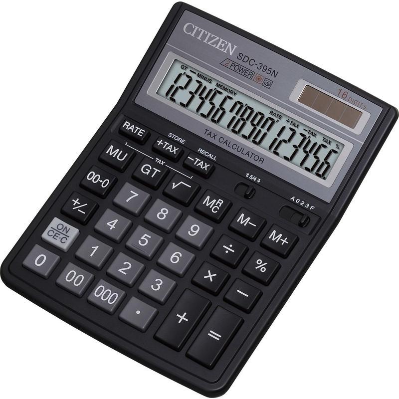 Калькулятор наст Citizen 16раз 143*192мм SDC-395N