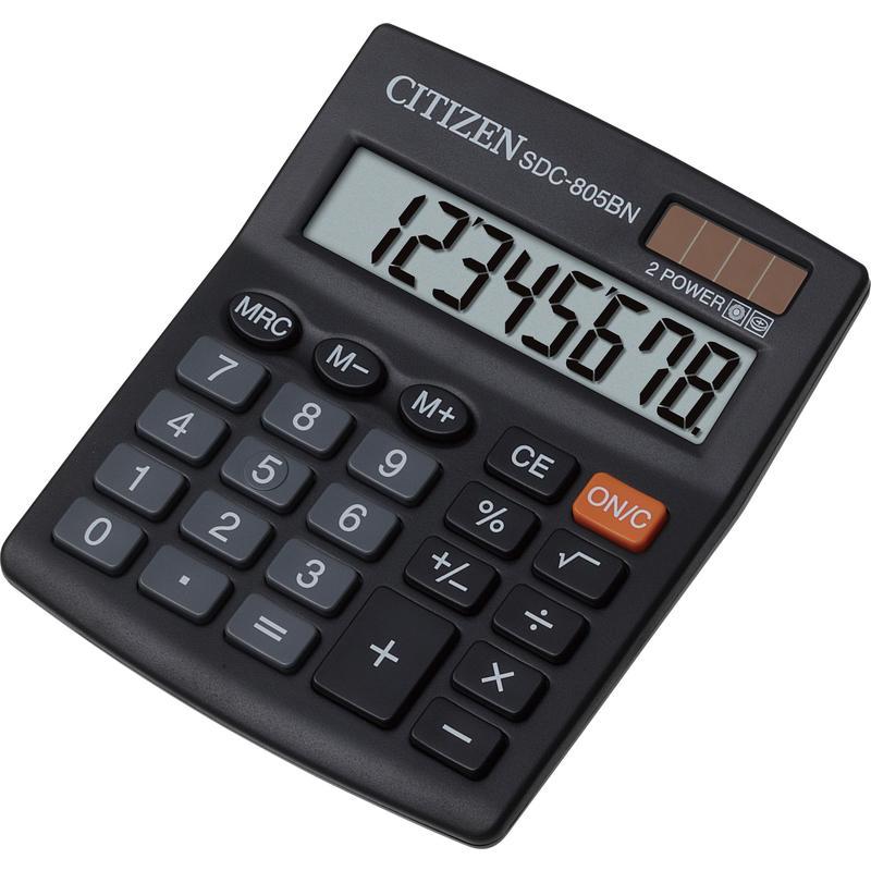 Калькулятор наст Citizen 8раз 102*124мм SDC-805BN