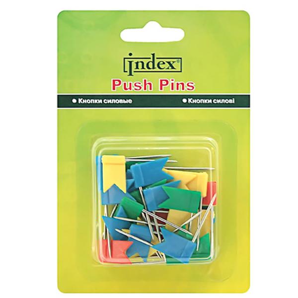 Кнопки-флажки цв 30шт/уп IFP2020
