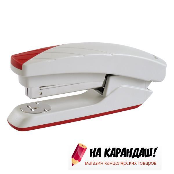 Степлер 24/6 20л Duoton АХ4721-06 серо-красн