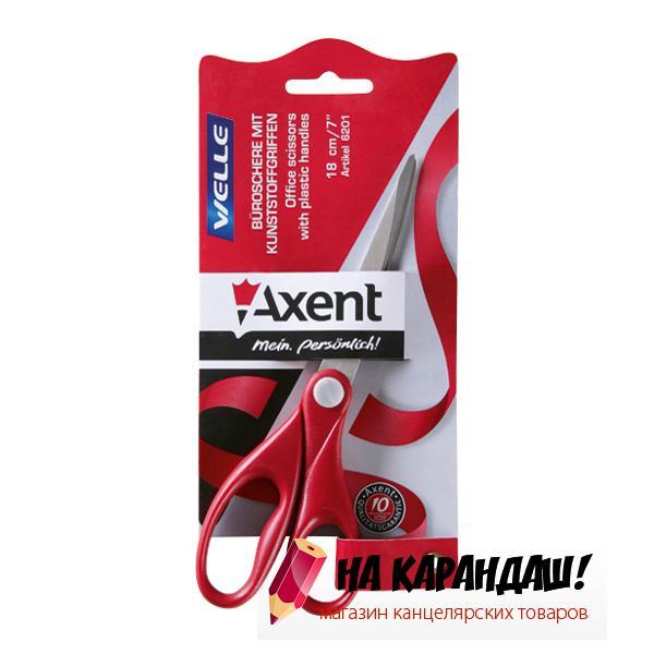 Ножницы Welle 180мм красн AX6201-06