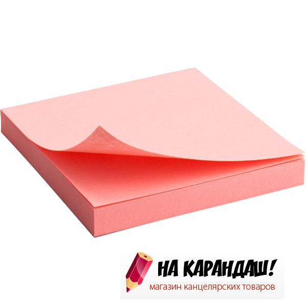 Стикер  АХ 2314-03 75*75мм. красн