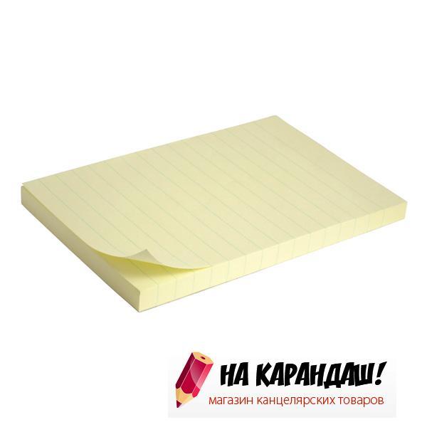 Стикер 100*150*100л желт лин AX2330-01/12/