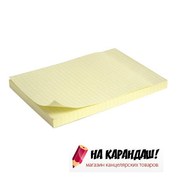 Стикер 100*150*100л желт кл AX2330-02/12/