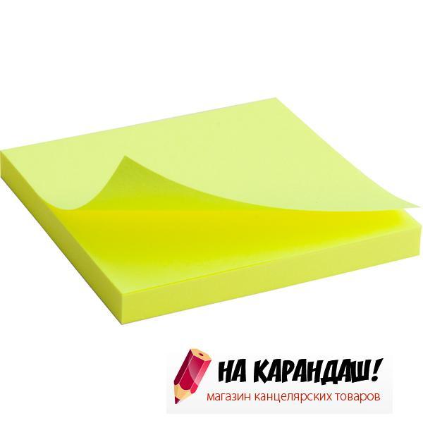 Стикер  АХ 2414-11 75*75мм.я-желт