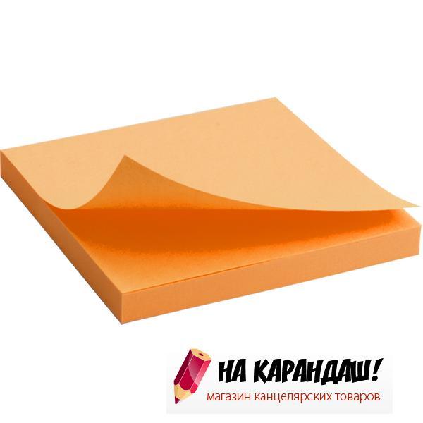 Стикер  АХ 2414-15 75*75мм.я-оранж