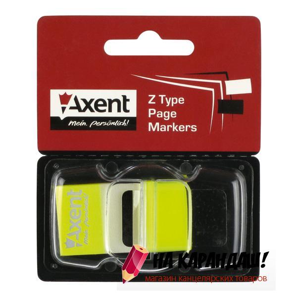 Стикер-закл 25*45мм 50л желт Neon AX2446-01