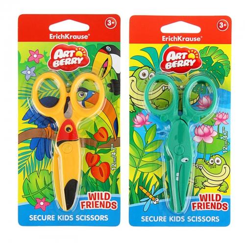 Ножницы дет 120мм пласт Artberry Wild Friends EK37432
