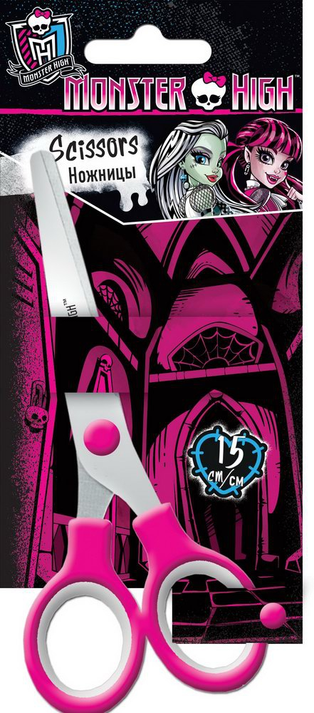 Ножницы дет 150мм Monster High MHCB-US1-SC15-BL1