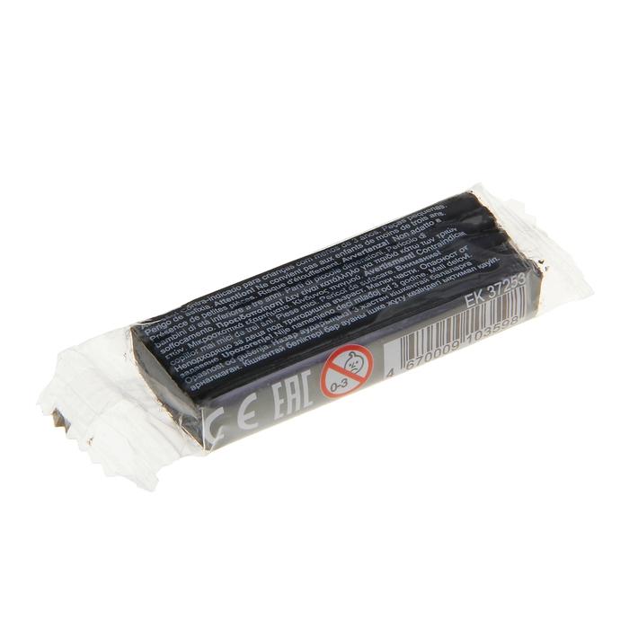 Пластилин шт 18гр EK37253 черный