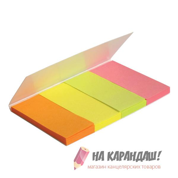 Стикер-закл 20*50мм 4*40л бум пр Neon AX2445/12/