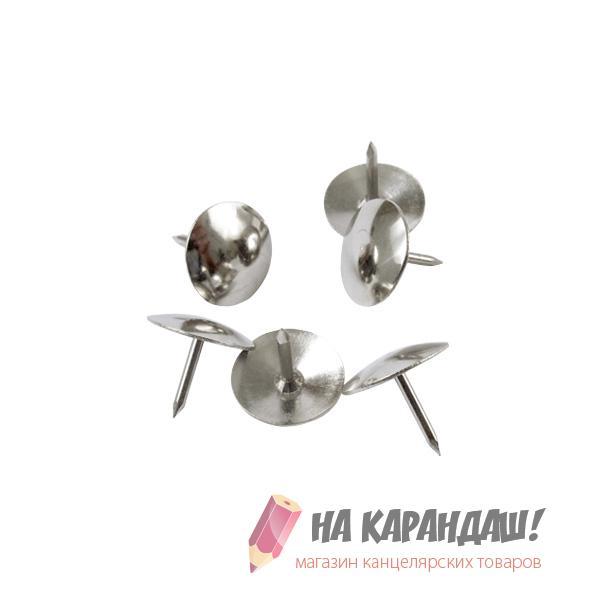 Кнопки никель 50шт/уп АХ-4201/20/
