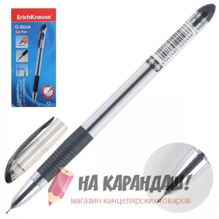 Руч гел EK G-Stick 0.5мм черн р/г 22046