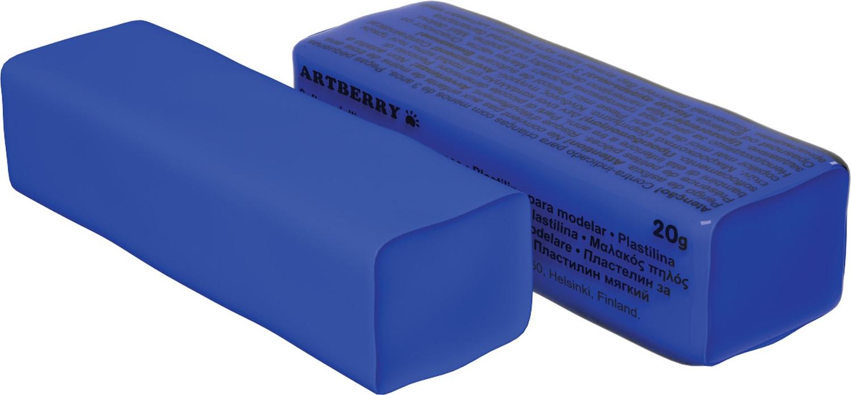 Пластилин мягкий шт 20гр Artberry EK37284 синий