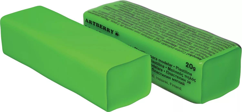 Пластилин мягкий шт 20гр Artberry EK37283 зеленый