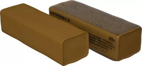 Пластилин мягкий шт 20гр Artberry EK37287 коричневый