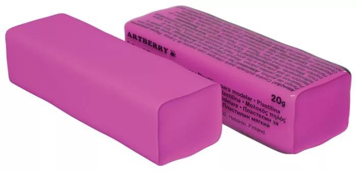 Пластилин мягкий шт 20гр Artberry EK37288 розовый