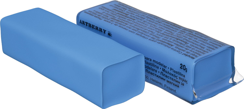Пластилин мягкий шт 20гр Artberry EK37289 морская волна