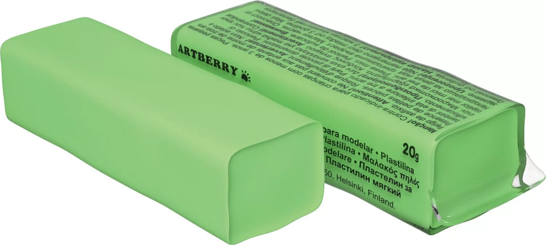 Пластилин мягкий шт 20гр Artberry EK37290 светло-зеленый