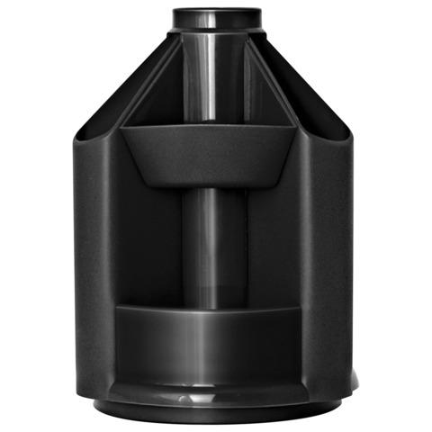 Подст д/оф предм пл вращ 10отд 107*140мм Mini Desk черн СТАММ ОР70