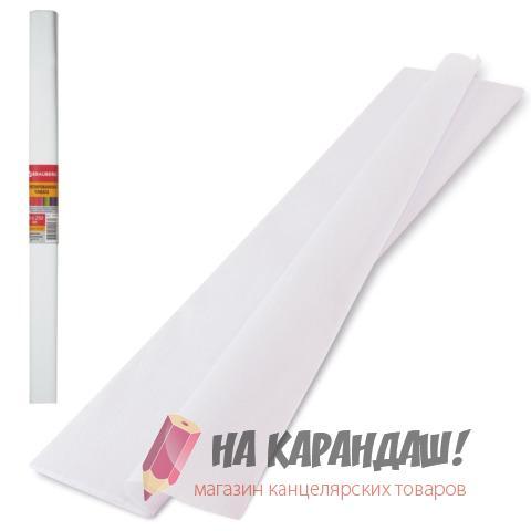 Бумага гофр 50*250см 32г/м белый Brauberg 126528