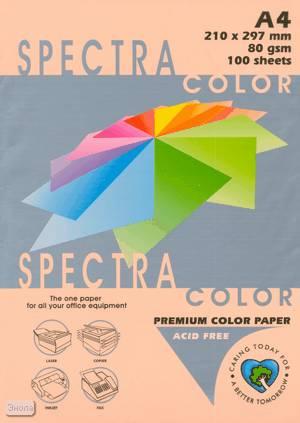 Бумага цв А4 (20л) 80g Pastel SC №150 персиковый