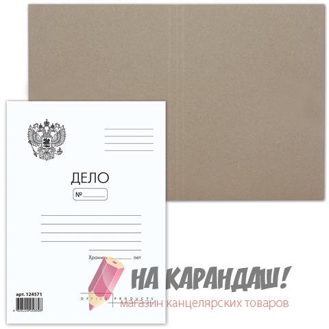 Папка карт Дело 300гр Brauberg 124571