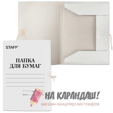 Папка карт н/завяз 310гр Staff 121120