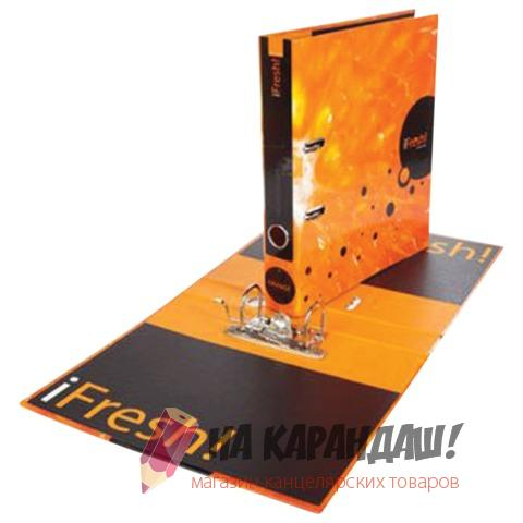 Регистратор А4/5 лам Hatber 11263 iFresh Апельсин