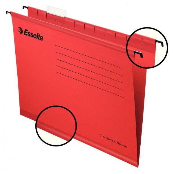 Файл подвесной А4 карт ES90316 красн