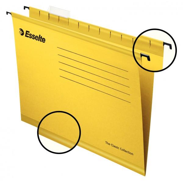 Файл подвесной А4 карт ES90314 желт