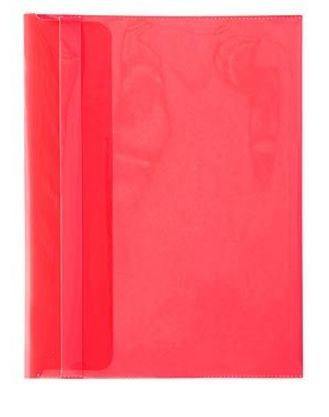 Конверт с клап А4 Hatber н/проз 180мк AKp_04203 красный
