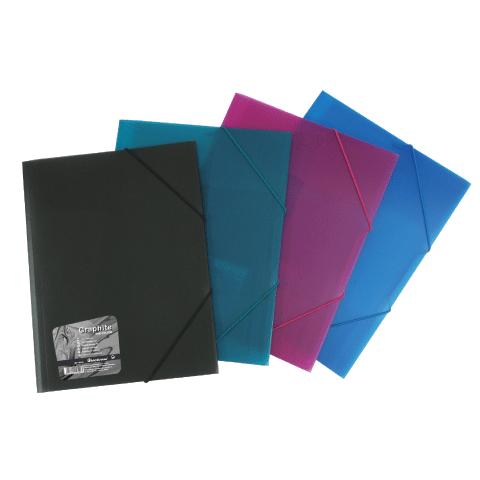 Папка н/рез А4 Vivid Colors проз mix EK14549