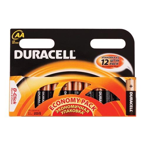 Батарейка Duracell AA LR6 12шт/уп 450432
