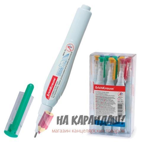 Корректор-ручка 10мл мет/нк Arctic White EK781