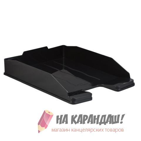 Лоток гор литой Стамм Эксперт Эконом черн ОФ444/5/