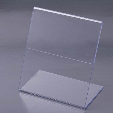 Подставка для рекламных матерериалов верт 1стор 80*130мм Brauberg 290411
