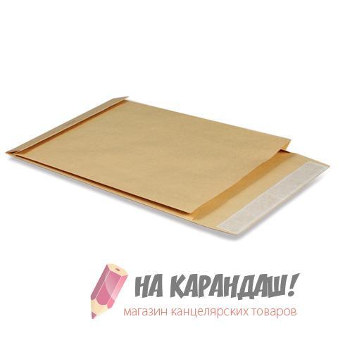 Пакет В4 СКЛ крафт 130гр с расш 40мм 121740/ 391157