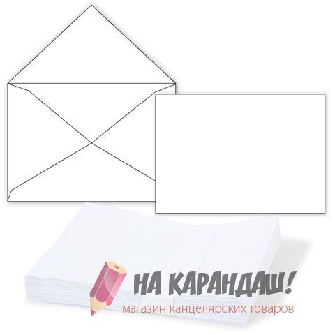 Конверт С4 б/подск б/окна б/клея треуг/клапан 2983